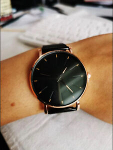 2020 new men casual luxury watch leather wrist band branded