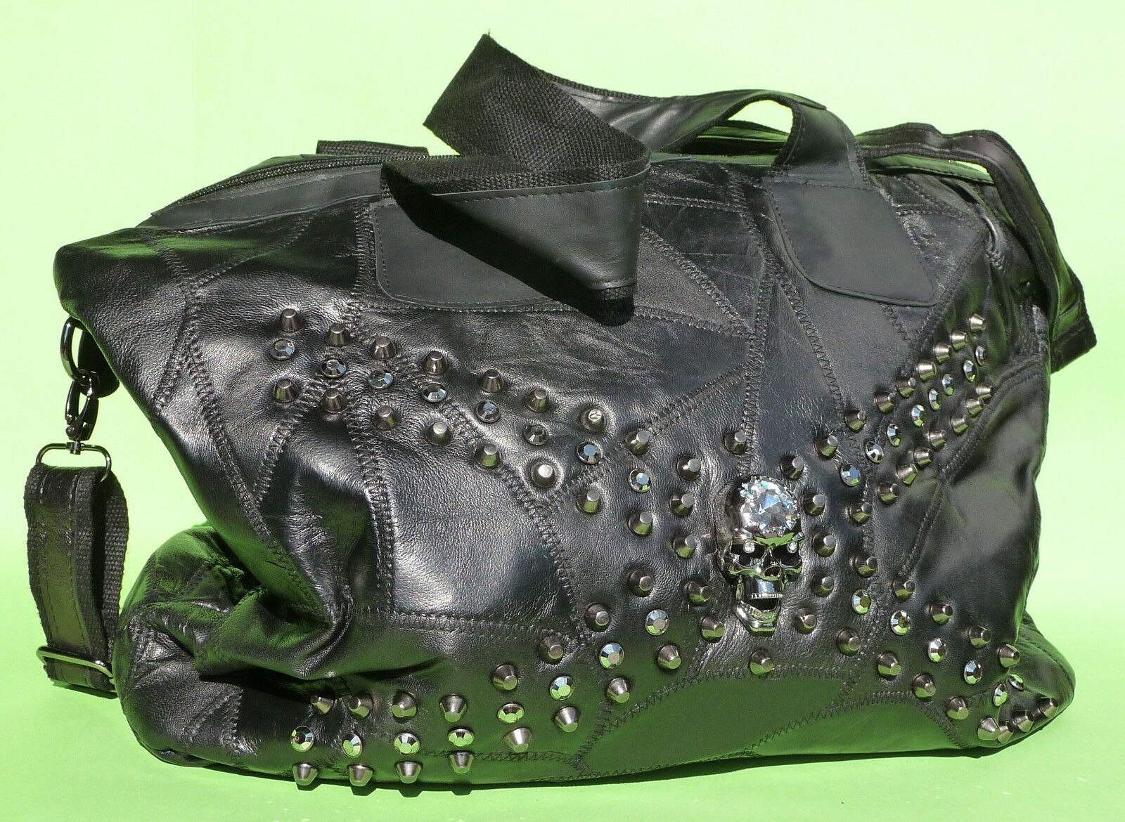DESIGNER Damenhandtasche Schultertasche 42cm ECHT Leder in TOP QUALITÄT     7590 | Ein Gleichgewicht zwischen Zähigkeit und Härte