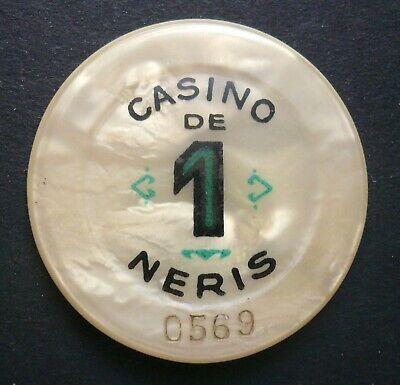 Casino De Neris 1 Franc Jeton Néris Les Bains,auvergne/france SchöNer Auftritt