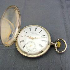 schöne alte Taschenuhr (84) 875/-Silber Tavannes Watch co wohl für Russland