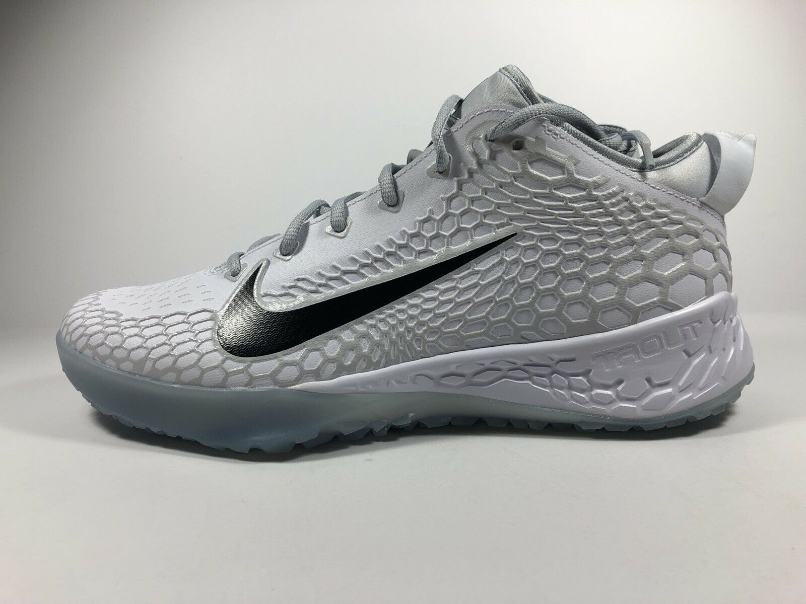 347999ad73 Nike Zoom Trout 5 Turf White Black Pure Platinum Size 10.5 AH3374 100 Force  ntjvgg6399-Athletic Shoes