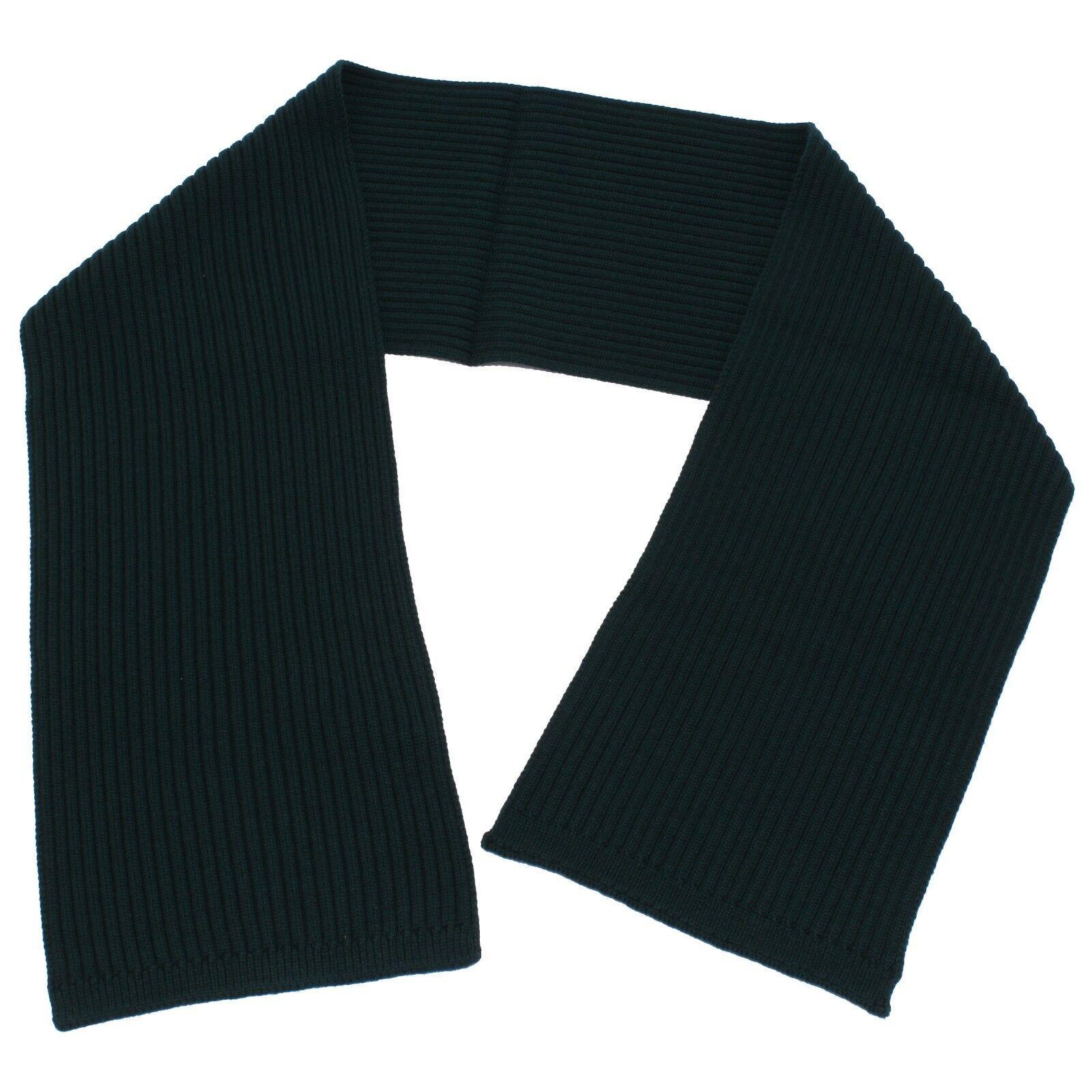 0503y sciarpa uomo dolce & gabbana green wool scarf men