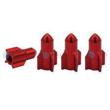 8 Stk Rot//Schwarz Reifenventilkappen Ventilkappen für Auto Styling