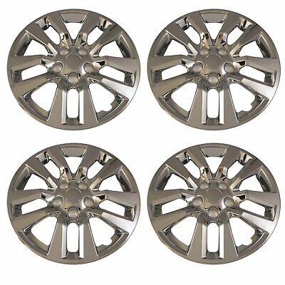 "2008-2011 Ford Focus 16/""  Set Of 4 Chrome Wheel Skin Wheel Cover Hubcap 6370P-C"