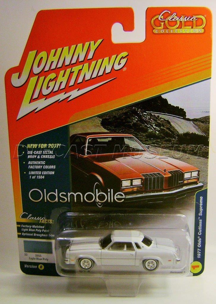1977 - der oberste klassiker Gold '77 cutlass johnny Weiß lightning chase auto 2017