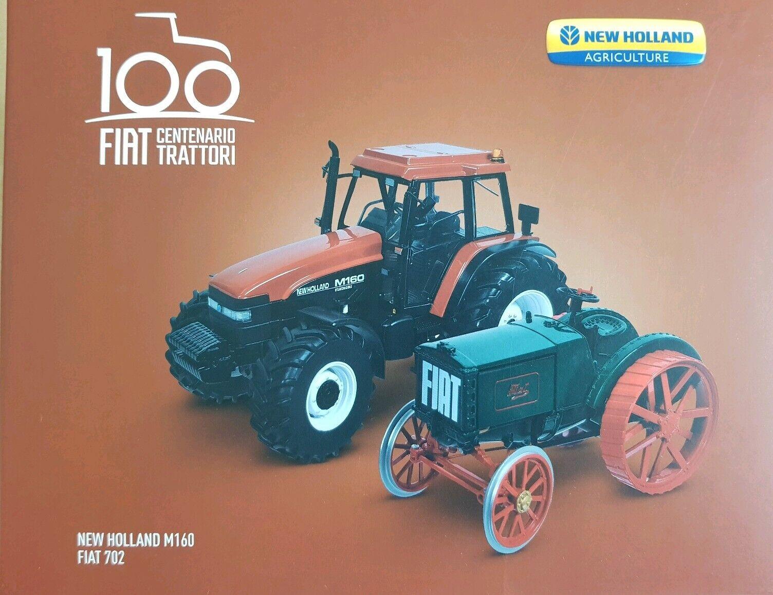 New Holland Fiat 702 & M160 tracteur Limited Edition Box Set-échelle 1 32