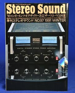 Stereo-Sound-No-97-Winter-1991-Japanese-High-End-Audio-Magazine-in-Japanese