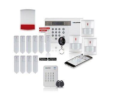 Blaupunkt SA2700 Funkalarmanlage Einfamilienhaus SMART GSM NEU & OVP