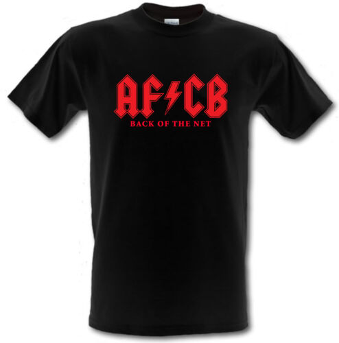 AFCB BOURNEMOUTH Back of the Net XXL ACDC style Football t-shirt SIZES SMALL