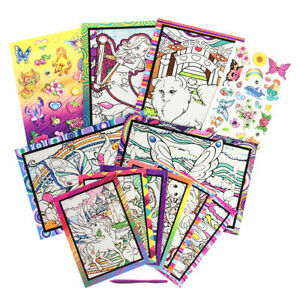 Magic Art Scratchers Deluxe Kit Stickers Temporary Tattoos Fun Party Favors Kids