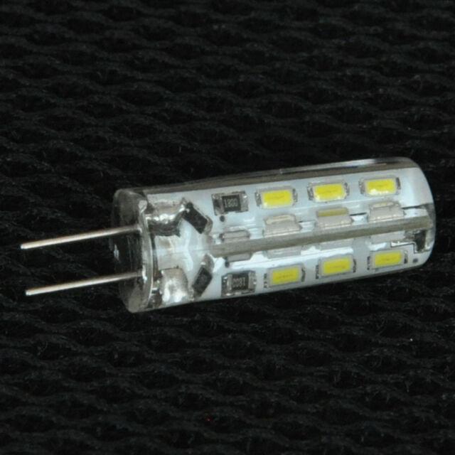 G4 2W 3014 SMD 110LM 24Leds  Warm Cool White Light LED Car Bulbs DC AC 12V 220V