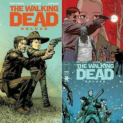 WALKING DEAD DELUXE #5 NM Cover A B C SET 12//16 2020