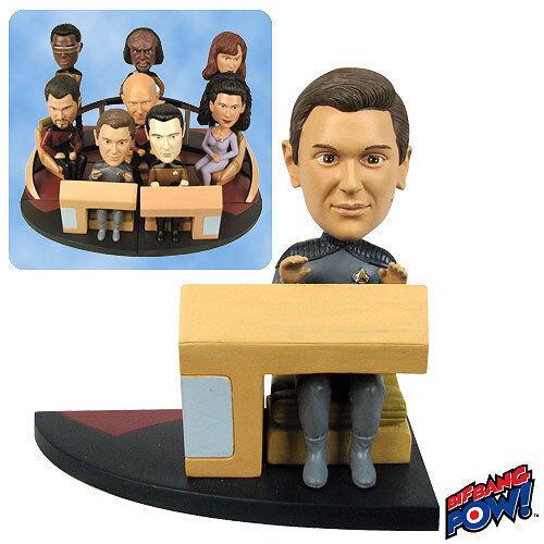 Star Trek TNG Build A Bridge Ensign Wesley Crusher Bobble Head 015564