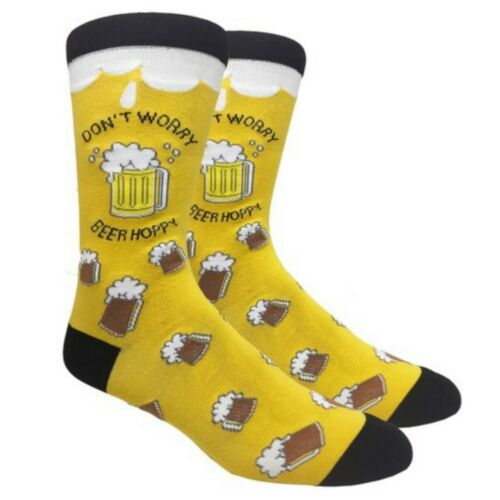 Graphic Crew Socks Novelty Funny Humor Trump Beer Weed US Flag Casual Designed