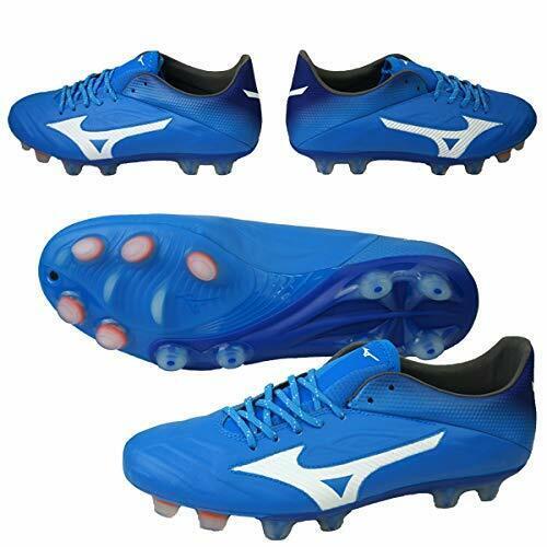 Zapatos de fútbol de pico de Mizuno Rebula 2 V1 Azul P1GA1971 US7.5 (25.5cm)