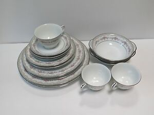 Image is loading 17-PIECES-USED-NORITAKE-034-GLENWOOD-034-5770- : used dinnerware - pezcame.com