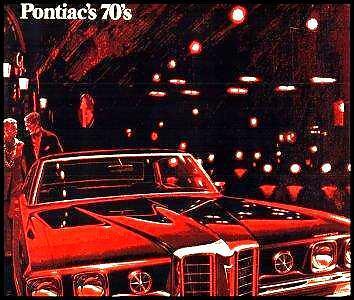1970 Pontiac Deluxe Brochure- GTO Judge LeMans Tempest Grand Prix, Original 70
