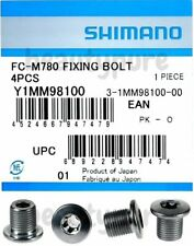 Shimano FC-M780 inner gear fixing bolts M8 x 8.5 mm
