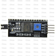 2PCS IIC/I2C/TWI/SPI Serial Interface Board Module Port for Arduino 1602LCD