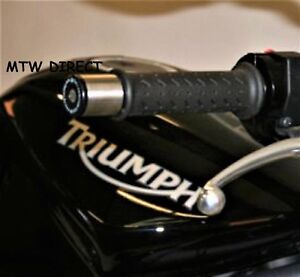 by R/&G Racing Handlebar Bar Ends for Triumph Street Triple 675 2007 to 2012