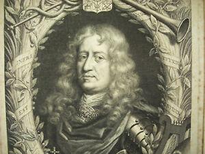 Helpful Magnus Gabriel Of La Gardie 1669 Print By Pieter Louis Van Schuppen D'ap David In Pain Art Prints