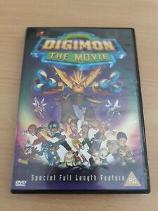 Digimon-The-Movie-DVD-Animated-Free-Post