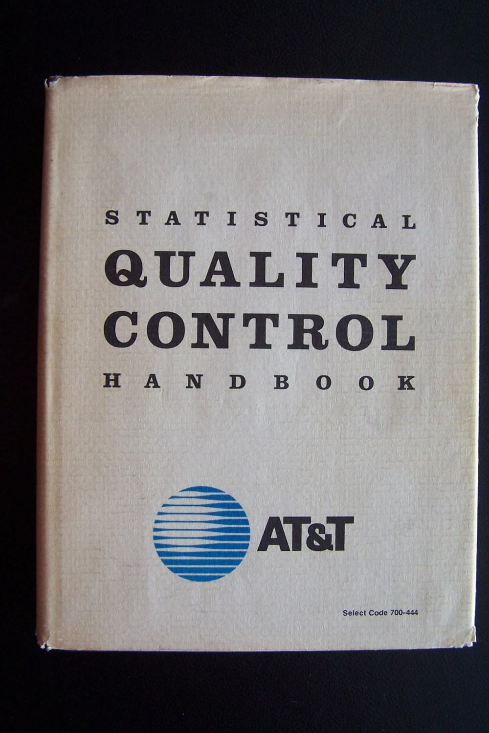 AT&T Statistical Quality Control Handbook (Select code
