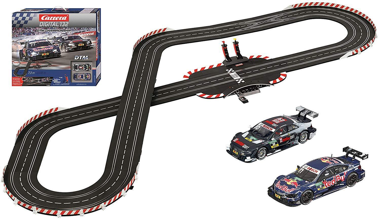 Carrera Digital 132 DTM Championnat Slot Car Racing Race Set 30196 NEUF