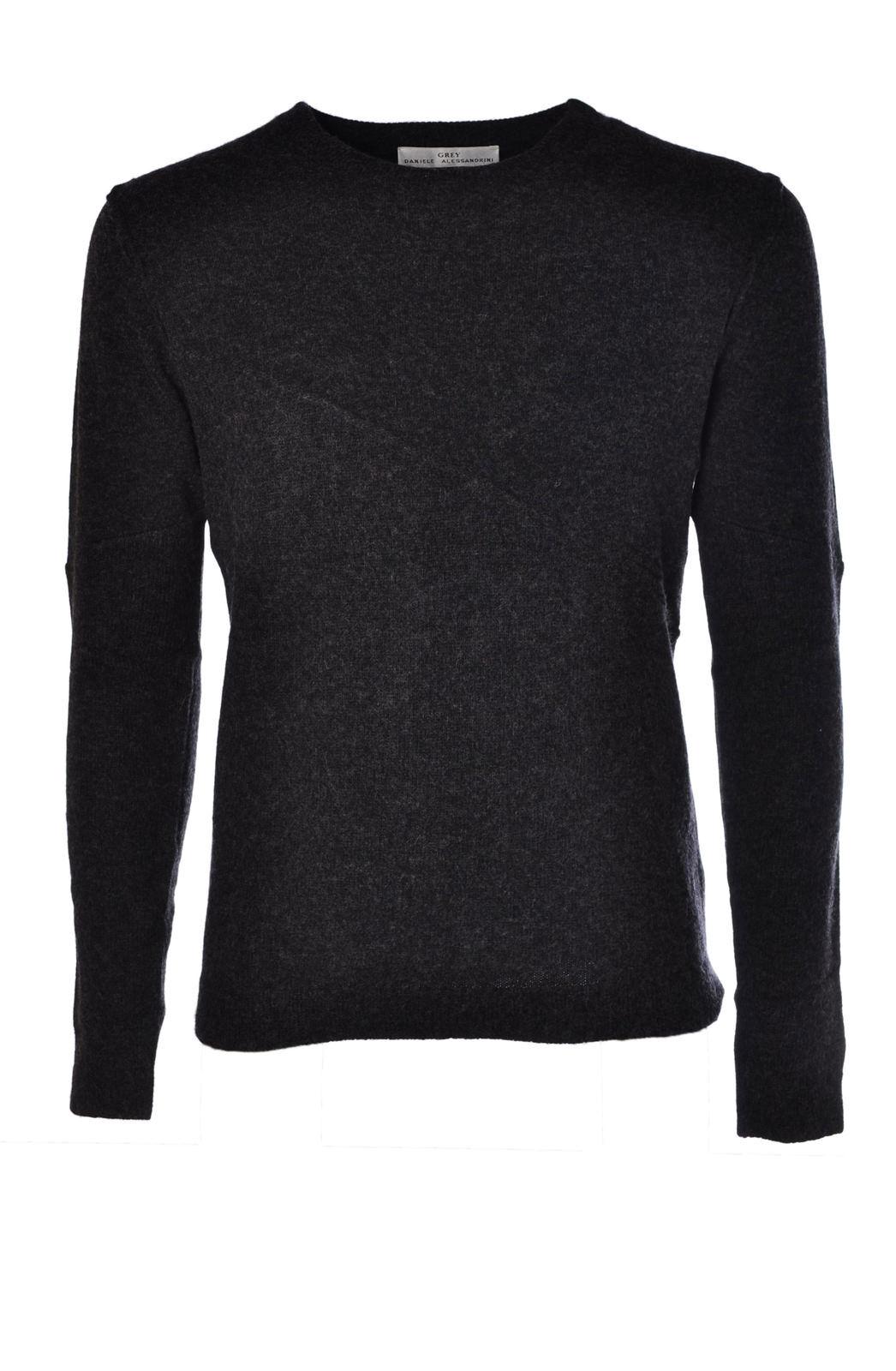 Daniele Alessandrini - Knitwear-Sweaters - Man - Grau - 472015N184021