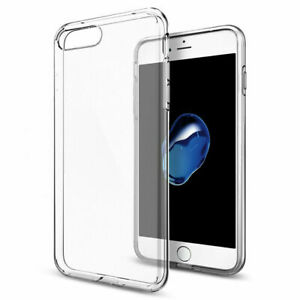 iPhone-7-8-Plus-Handy-Huelle-Silikon-Cover-Schutzhuelle-Soft-Case-Slim-transparent