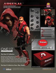 DC Mezco PX Previews Exclusive Arsenal One 12 Scale Acción Figura