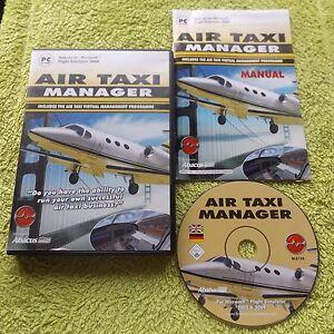 AIRE-TAXI-MANAGER-PC-CD-ROM-V-G-C-Complemento-Para-Simulador-de-Vuelo-2004