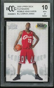 2003-04-upper-deck-playmakers-bobble-head-cards-LEBRON-JAMES-rookie-BGS-BCCG-10