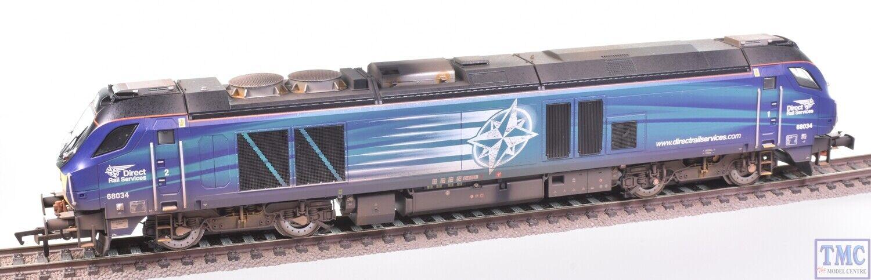 4D-022-016 Dapol OO Gauge Class 68 68034 DRS Weatherojo by TMC