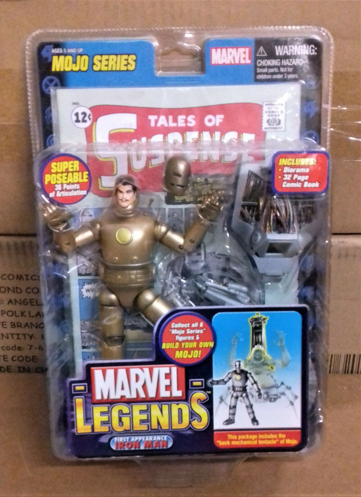 Marvel Legends Scale 1st appearance IRON MAN Gold variant 6  toy figure RARE