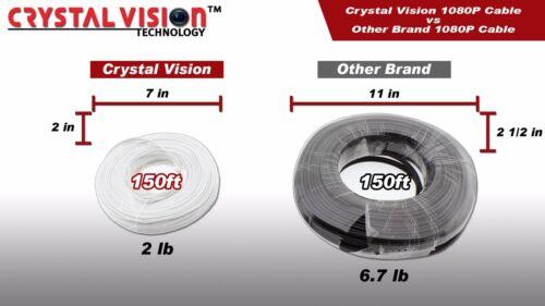 LHV16212 720P//1080P Systems 60ft x 4 Premium BNC cable for Lorex LHV828