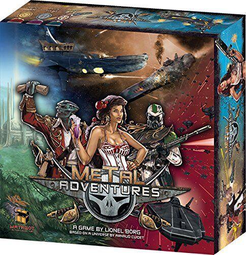 Metal Adventures Board Game Asmodee