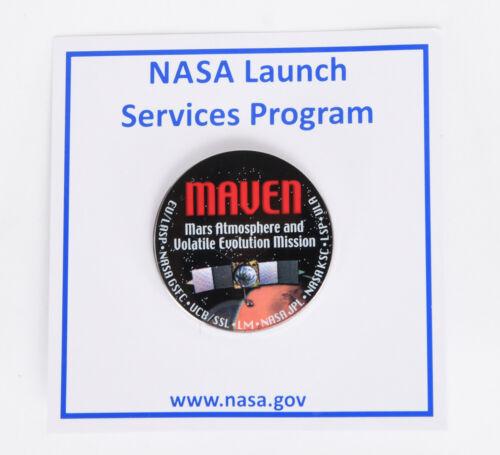 New MAVEN NASA Space Mission Hat Pin MARS GSFC JPL USAF Satellite