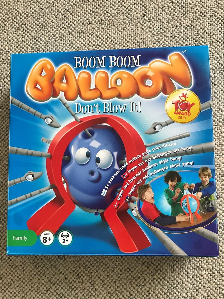 Boom Boom Balloon, andet spil