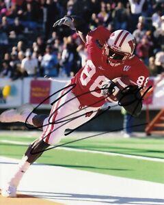 Chris Chambers #3 8x10 Signed Photo w/ COA Wisconsin ...