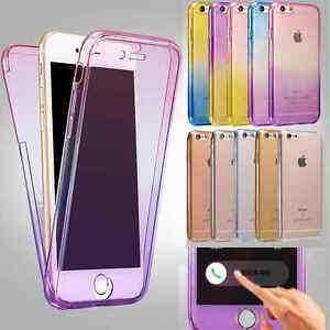 Antichoque-360-Silicona-De-proteccion-Funda-Transparente-para-Apple-iPhone-6-S