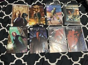 The-X-Files-Season-10-Lot-Of-8-IDW-Comics-s-4-6-8-10-12-14-First-Printing