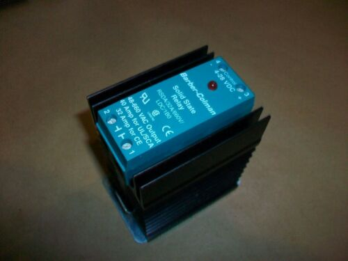Barber-Colman Solid State Relay RSDA//32A//660V//LDC//1B0   4-28VDC IN  40-660VAC OU