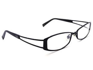b968efb446a0c Ray Ban Eyeglasses RB 6128 2509 Black Oval Metal Frame Italy 52  16 ...