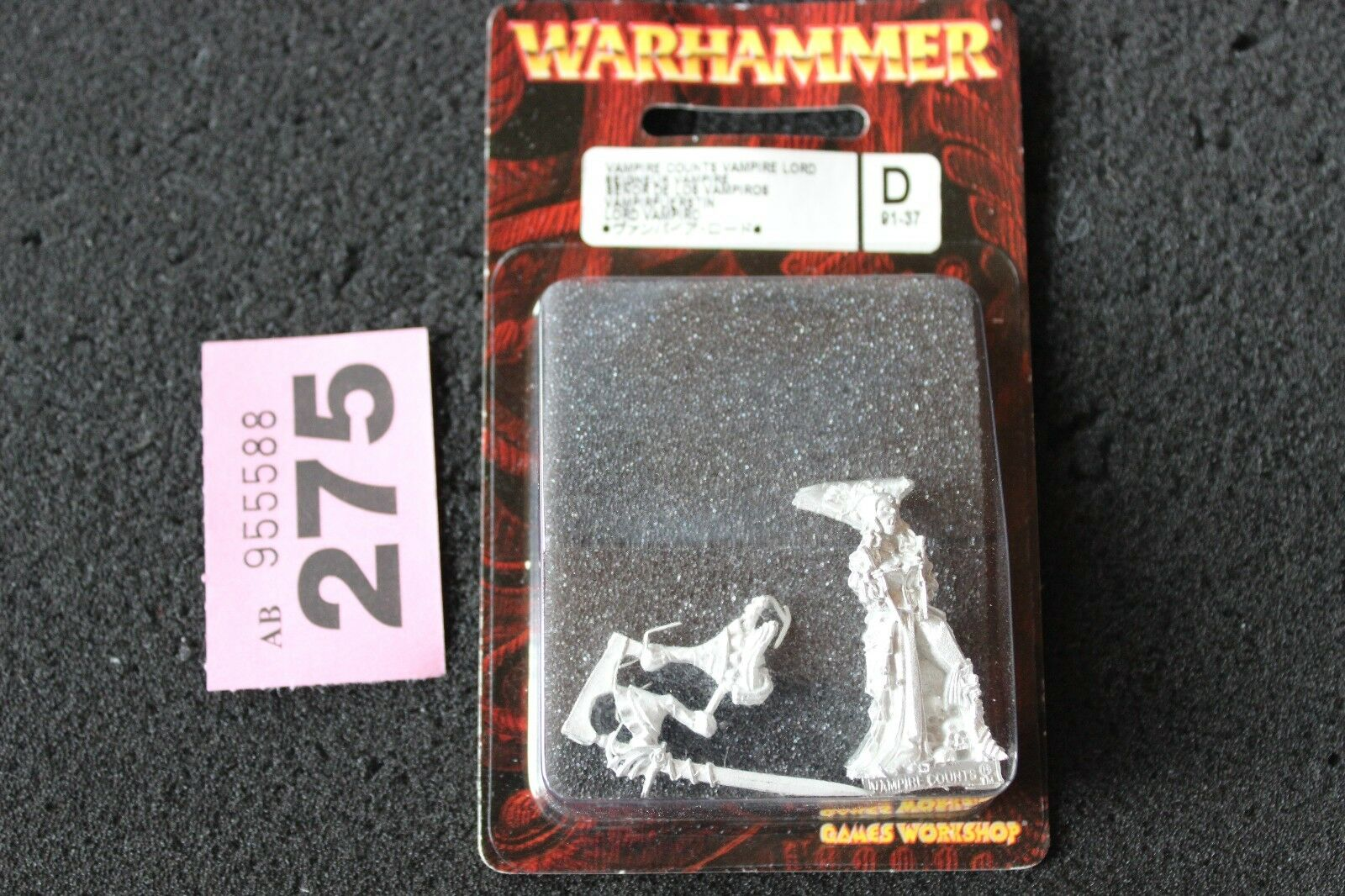 Games Workshop Warhammer Vampire Counts Isabella Von Carsten Metal Undead New GW