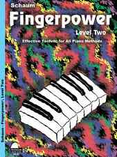 "JOHN SCHAUM ""FINGERPOWER"" LEVEL TWO-2 PIANO METHOD MUSIC BOOK BRAND NEW ON SALE!"