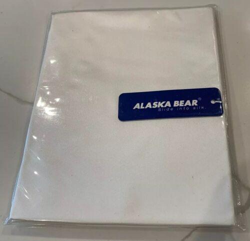 Alaska Bear Queen Natural Silk Pillowcase Ivory