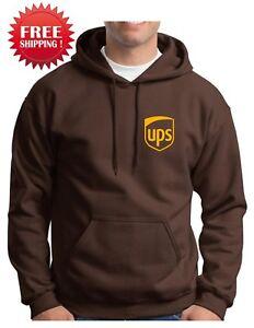 UPS-United-Parcel-Service-UPS-HOODIE-UPS-Hoodie-Postal-Hooded-sweatshirt-Hoodie