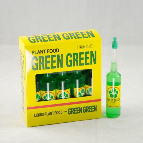 Lucky Bamboo Plant Food /& Fertilizer Free Shipping 10 Bottles Green Green