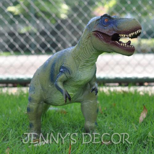 "Jurassic World Dinosaurs Model Toys 23/"" Tyrannosaurus Rex Soft Rubber Figure Big"